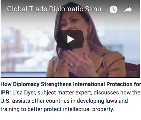 Diplomacy, global trade, simulation