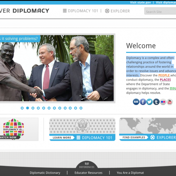 Introduction, Diplomacy Center, Screenshot