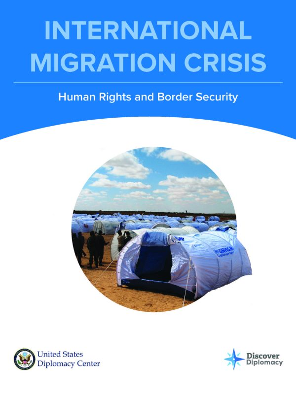 Migration Crisis, Diplomacy Center, Simulation