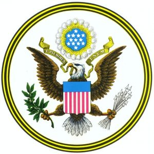 Great Seal, Diplomacy Center, United States