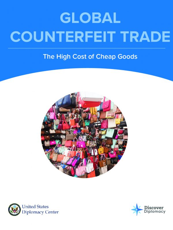 Counterfeit Trade, Diplomacy Center, Simulation