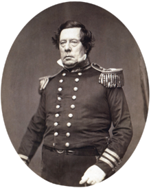 Photograph of U.S. Commodore Matthew C. Perry