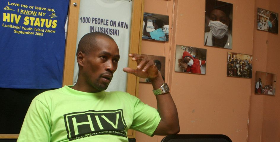 A resident of Cape Town, South Africa, recounts the struggles of living with HIV.