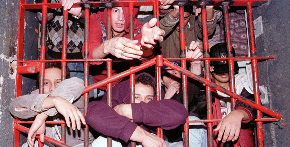 An overcrowded cell in Sao Paolo, Brazil, shows the kind of conditions some Americans face in jails abroad.