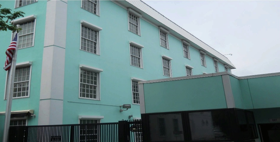 Picture of the U.S. Embassy in Nassau, Bahamas