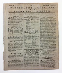 Original image of old newspaper