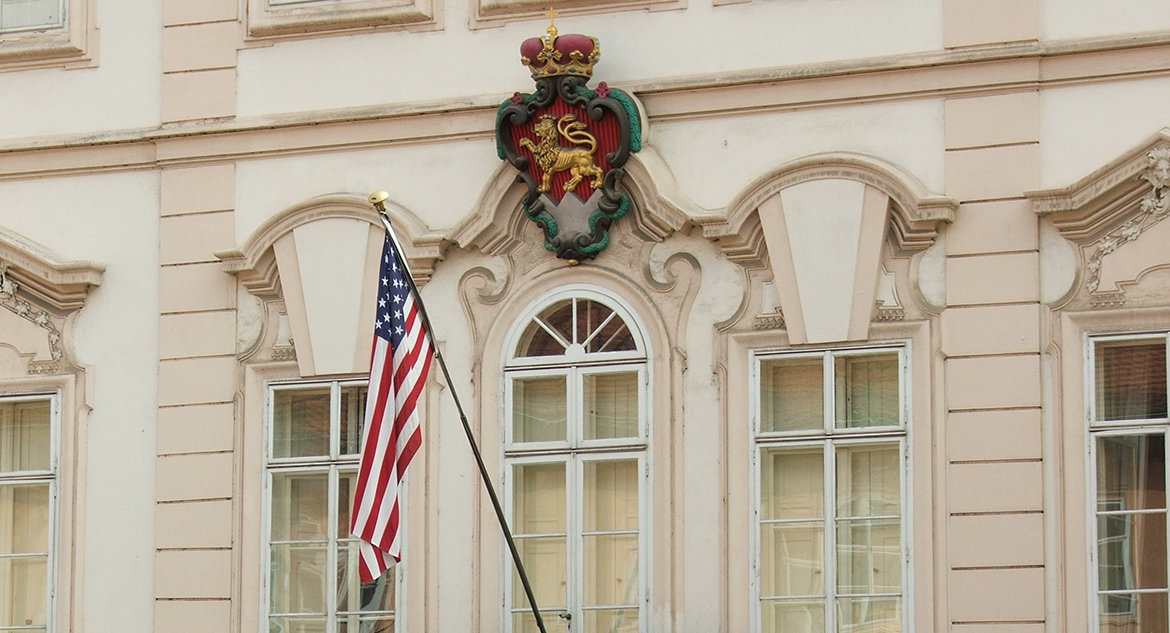 Image of U.S. Embassy Prague, Czech Republic