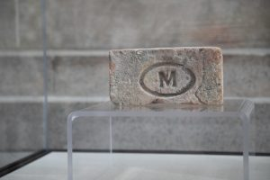 Brick on a stand