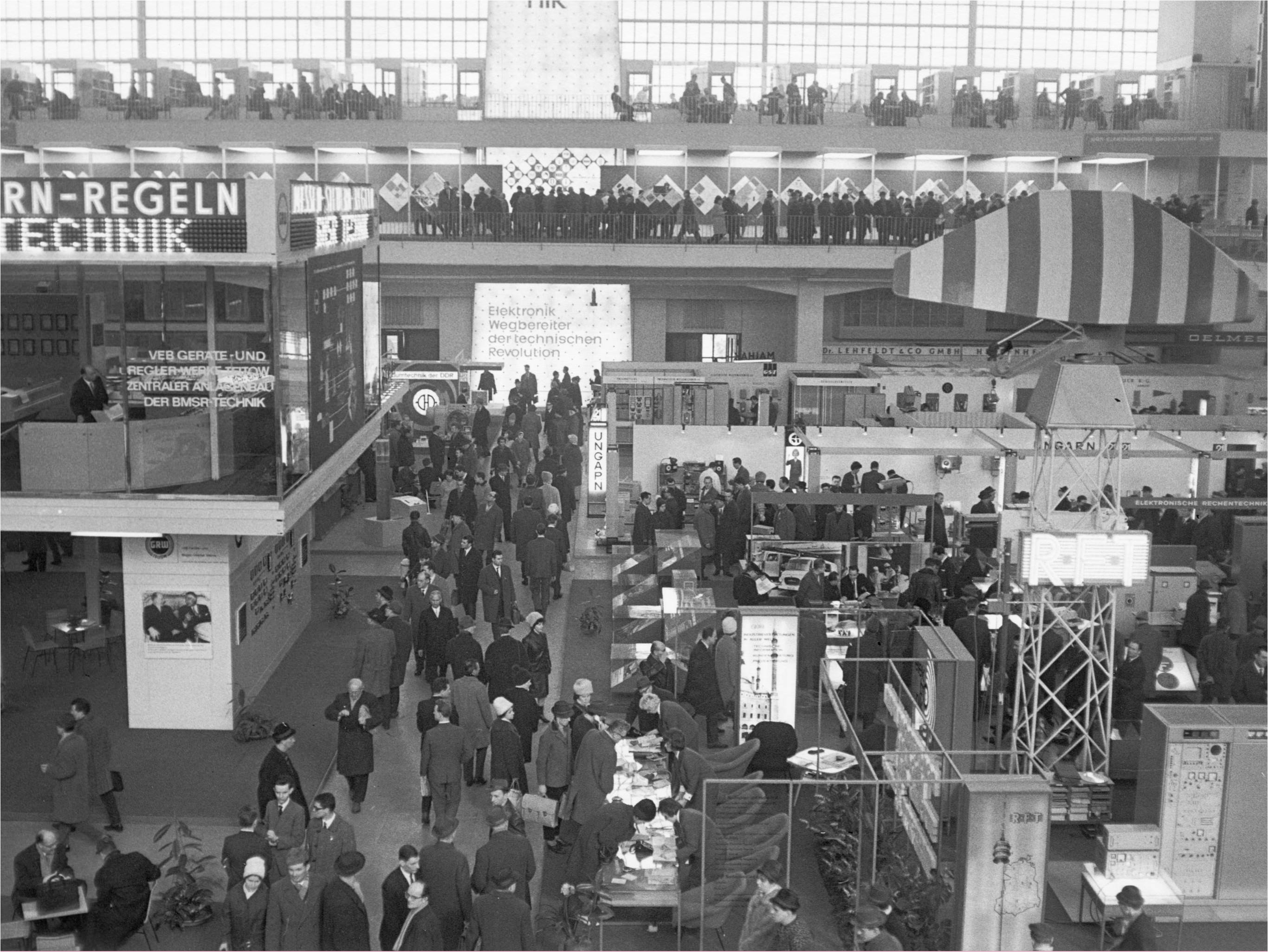 Leipzig Trade Fair exhibition hall