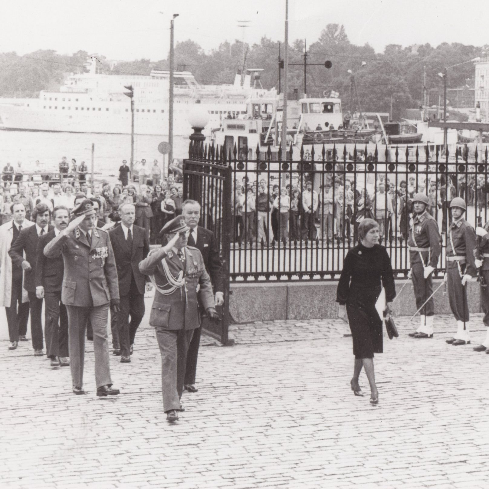 U.S. diplomat Rozanne Ridgway is in the center of the action as U.S. Ambassador to East Berlin