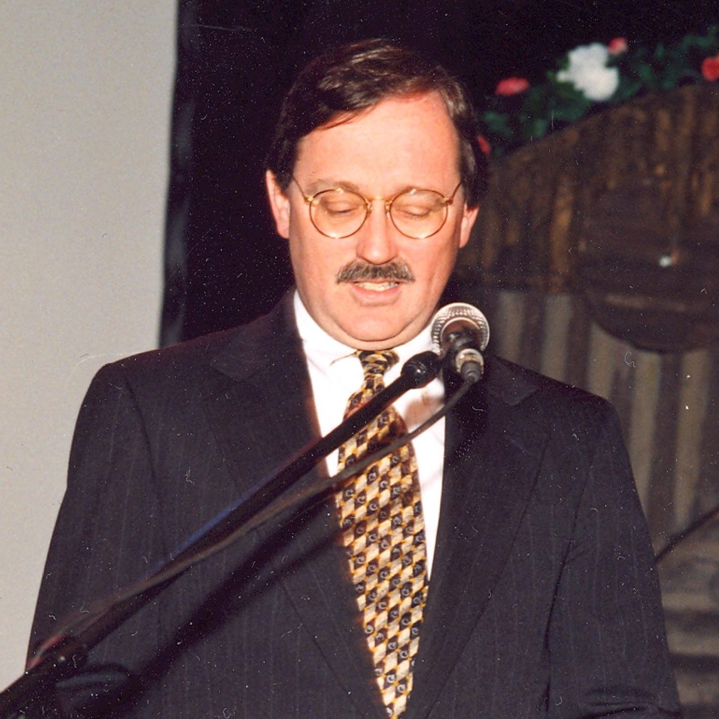 U.S. diplomat J.D. Bindenagel, East Berlin, 1996