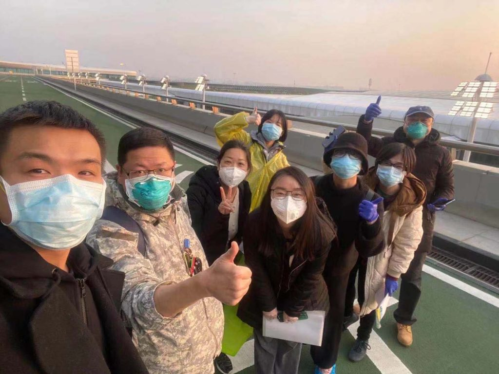 After Consulate Wuhan's American employees evacuated the city, eight locally employed staff members risked their health by volunteering to run departure operations for four subsequent evacuation flights.