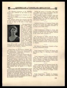 Lucille Atcherson Appointment in Foreign Service Journal