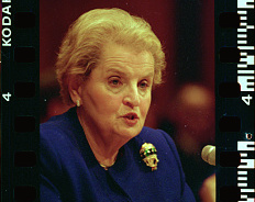 Secretary of State Madeleine K. Albright.