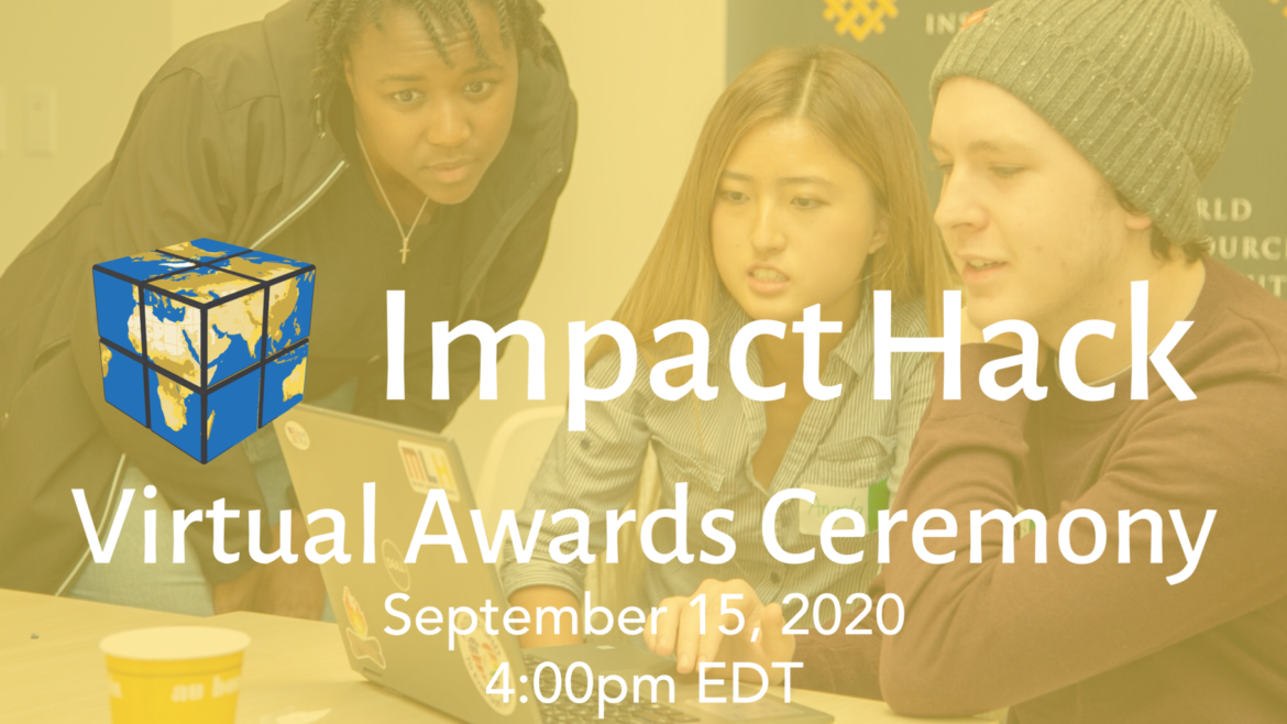 ImpactHack Awards Ceremony Banner