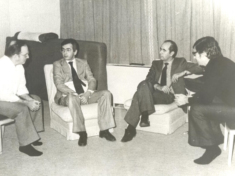 Meeting with Algerian diplomats - Christmas 1980-crop