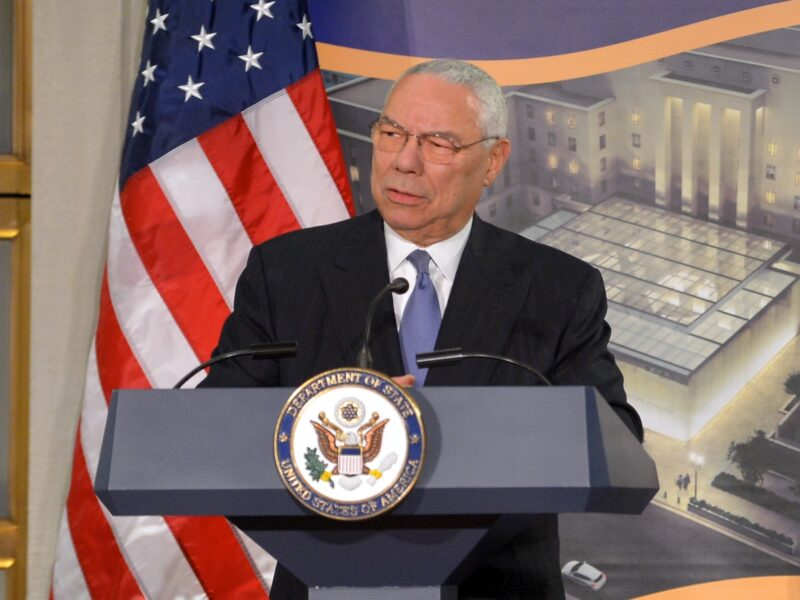 General Colin Powell Secretary of State National Museum of American Diplomacy